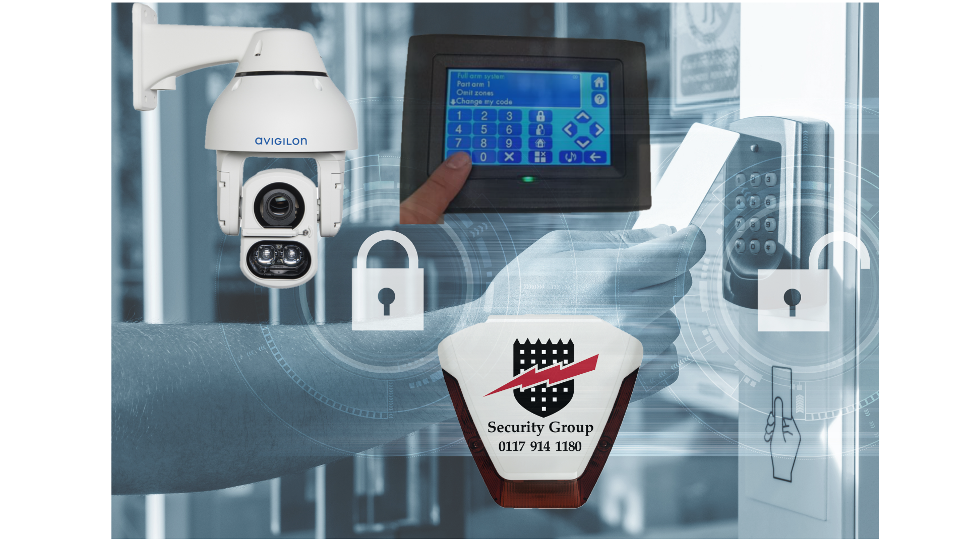 Security systems key area