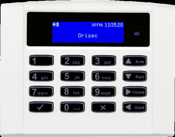 Orisec Alarm keypad