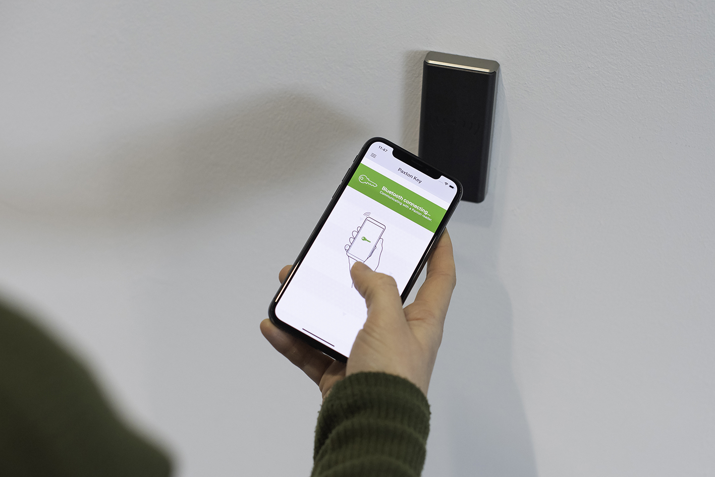 Paxton Key App Phone 1