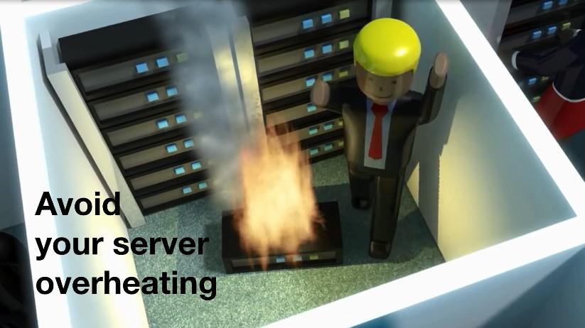 server overheat